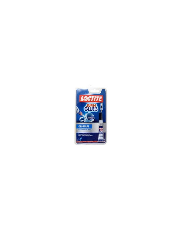 Loctite Super glue 3 3gr USO INTENSIVO