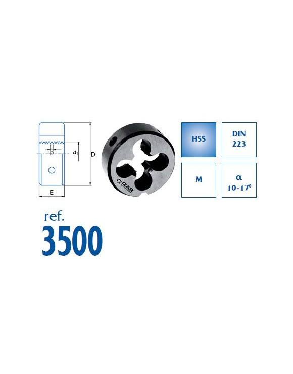 COJINETE MANO METRICA REF.3500
