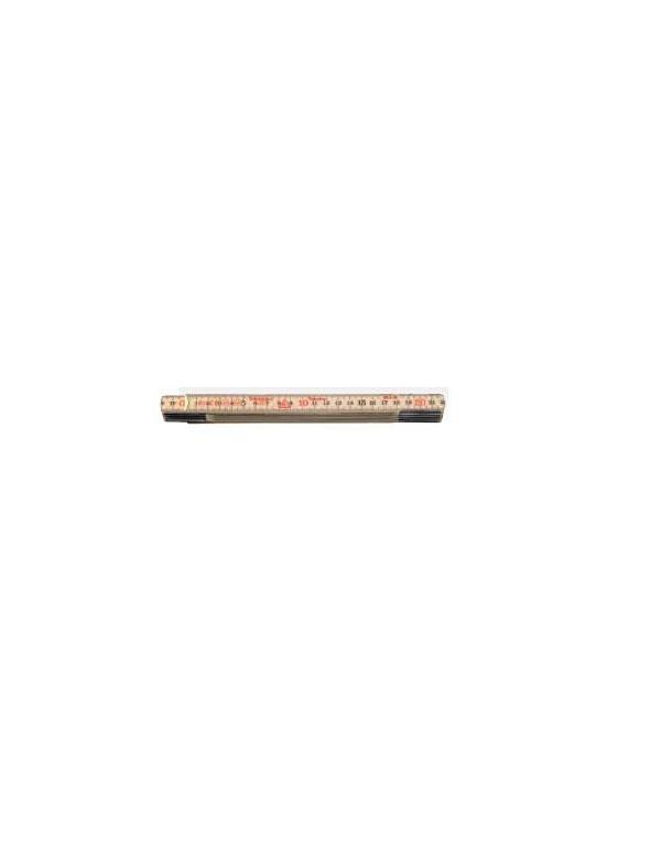 Metro de varilla plegable madera abedul color natural Hultafors REF.59-2-10
