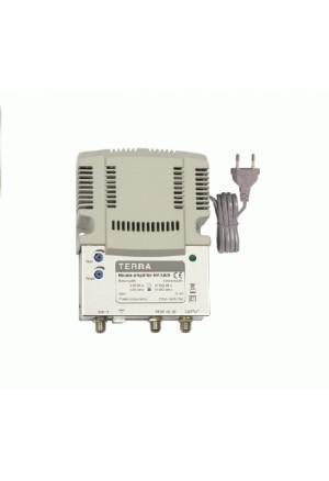Amplificador de interior 34 dB, vía retorno pasiva TECATEL REF.TE-HA126R30