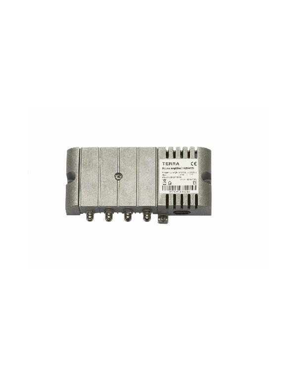 Amplificador CATV interior 37 dB, 120 dBuV TECATEL REF.TE-HA204R65