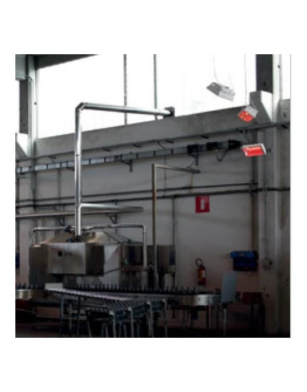 Calefactor inflarojo 2000 W MWEHT1-20