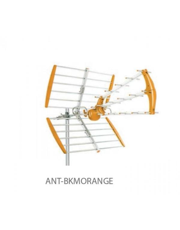 ANTENA TRIPLE UHF, MOD BKM, G17 dB NARANJA TECATEL