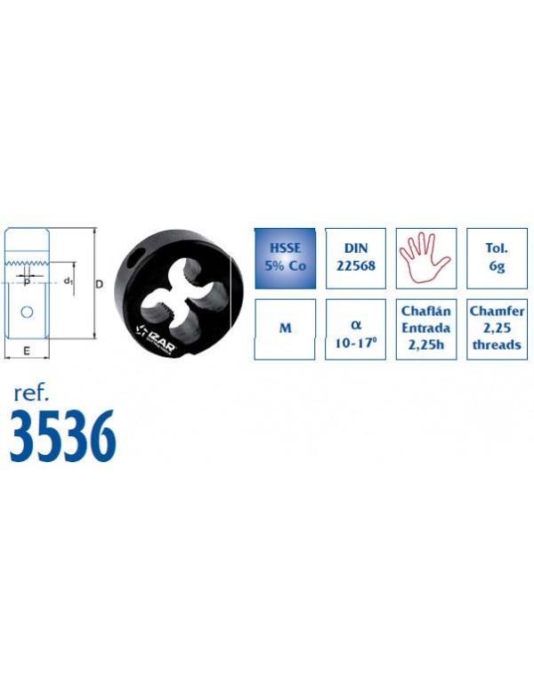 COJINETE MANO METRICA INOX REF.3536