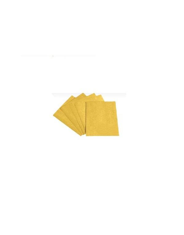 Paq.100 unidades Hoja papel lija pintor óxido de aluminio (Antes KFP/GOLD) REF.GWP-210C