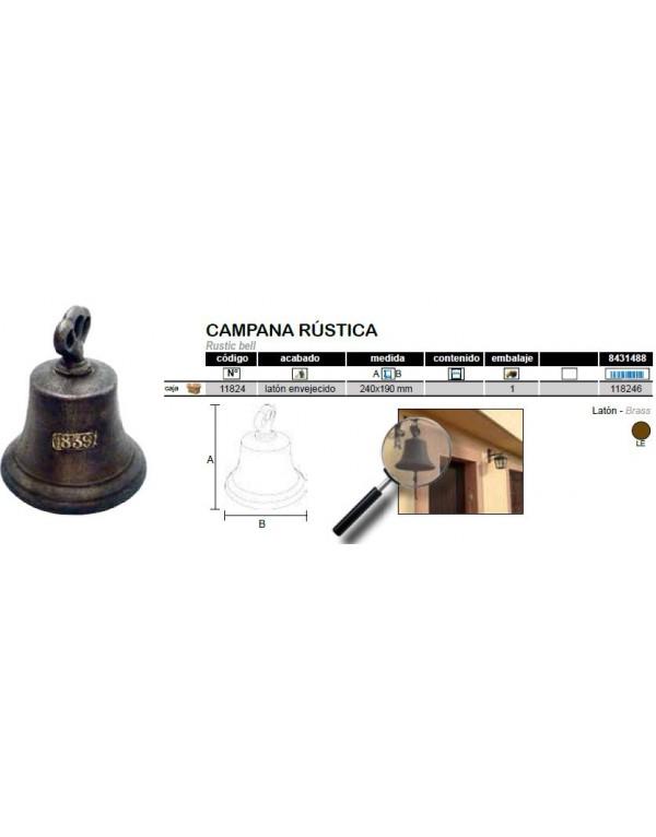 CAMPANA RUSTICA REF.11824